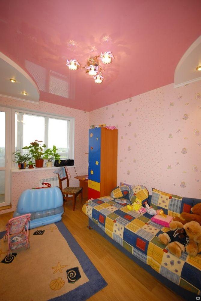 Потолок в детской фото