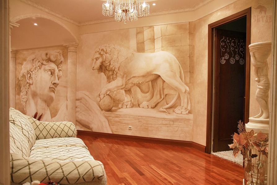 фреска фото на стену